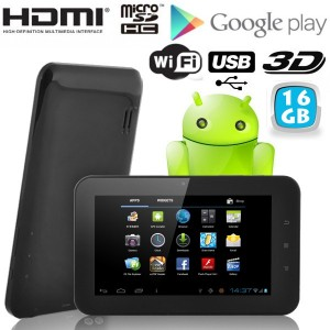 Tablette tactile Android 16Go