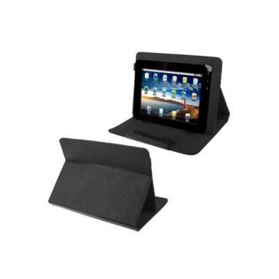 Housse universelle luxe noir pour tablette tactile