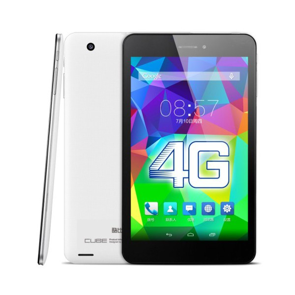 Tablette tactile Android 4.4 Octa Core 7 pouces 4G 16Go Blanc
