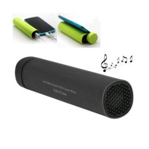 Batterie externe de 4000 mAh qui peut diffuser de la musique