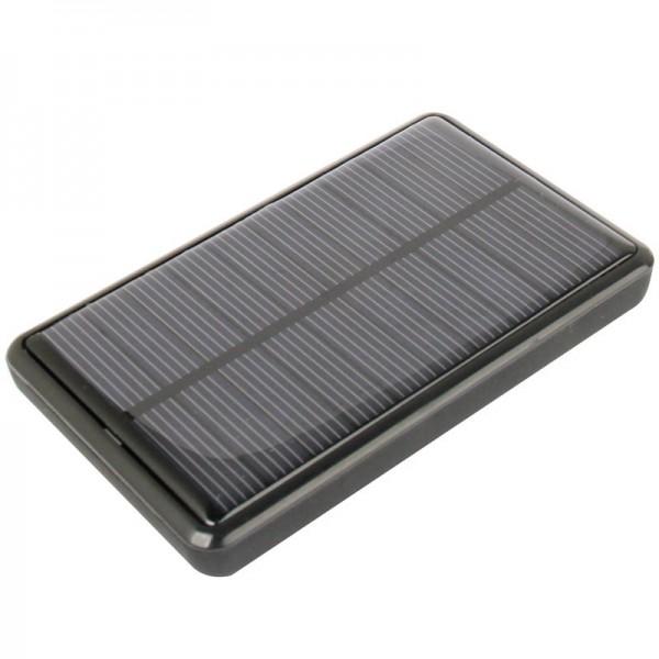 Batterie externe qui se recharge à l'énergie solaire